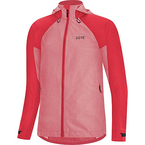 GORE WEAR C5 Damen Trail Fahrrad-Jacke mit Kapuze GORE-Tex, 40, pink
