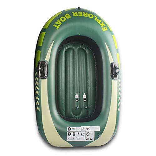LNIBA Bestway Bote Inflable del Barco del Ocio del Agua del PVC, Barco de Pesca Inflable 1/2 Persona, Barco a La Deriva, Barcos, Unisex Niños