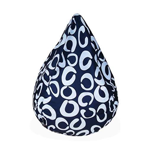 NBVCX Decoración de Muebles Bean Bag Silla Tumbona para Juegos Grande 69 * 86 * 105CM BeanBags para Interiores y Exteriores Resistente al Agua y a Las Manchas (Color: Naranja)