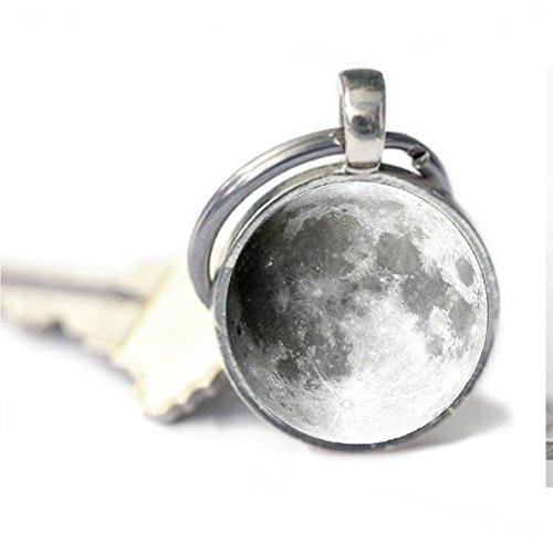 Pulsera joya de la luna llena Llavero Llavero