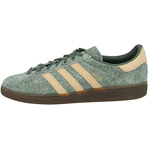 adidas Zapatillas para hombre Low Múnich., color Verde, talla 43 2/3 EU