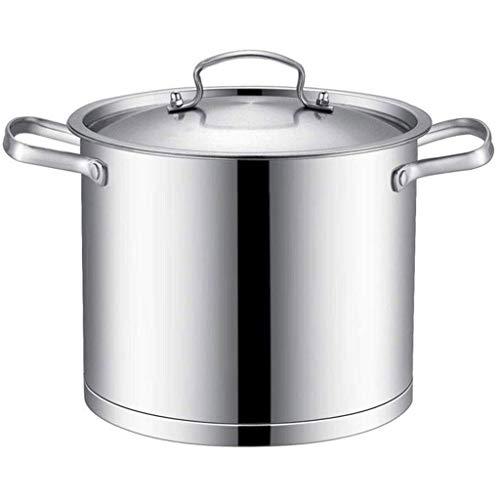 CJTMY Sopa Pot - Acero Inoxidable Sopa Pot Engrosamiento Doble Fondo Antiadherente Grande de Alta Sopa Pot Inducció