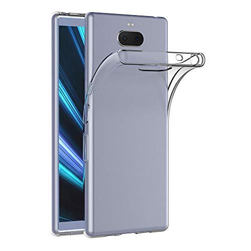 AICEK Hülle Compatible für Sony Xperia 10 Transparent Silikon Schutzhülle für Sony Xperia 10 / Sony Xperia XA3 Hülle Clear Durchsichtige TPU Bumper Sony Xperia XA3 Handyhülle (6,0 Zoll)