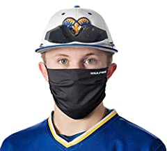 DESIGNED FOR ATHLETIC WEAR face cover is expertly designed to remain comfortably in place during athletic activity MOISTURE WICKING MATERIAL is breathable and soft on skin with no chafing ANTI-MICROBIAL and exceeds CDC recommendations for protection ...
