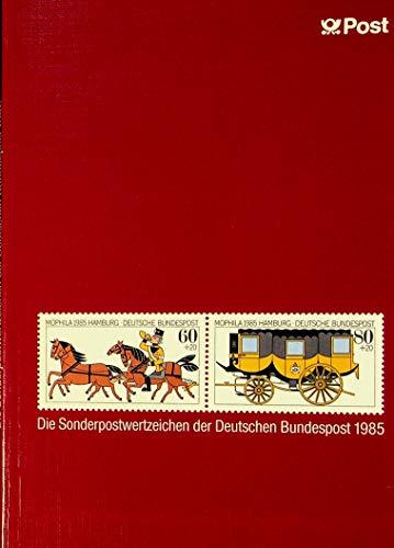 Die Sonderpostwertzeichen der Deutschen Bundespost 1985.