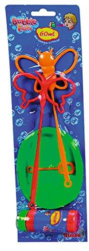Simba Toys-Set Pompas, Incluye Bote de Jabón Líquido de 60ml, 4 Disponibles, Recibirás un Modelo de Forma aleatria. No es Posible Hacer preselección, para Niños a Partir de 3 Años (7286061)