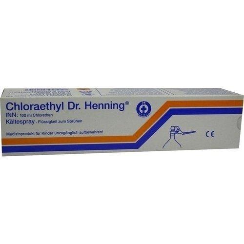 CHLORAETHYL Dr. Henning Hebelverschluss 100 ml
