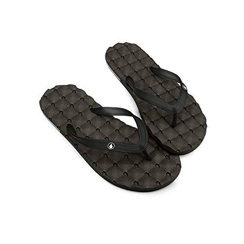 Volcom Recliner Rubber 2 Sandal Flip Flop, Sandalia para Hombre