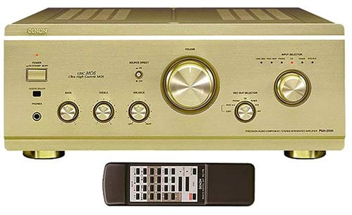 Denon PMA-2000R HiFi-Amplificador Integrado de Oro