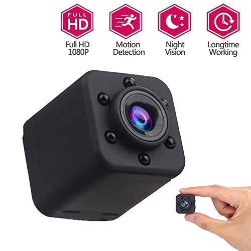 Camera 1080P Micro DVR DV Dynamic Recorder Sensor Night Vision Full HD Home Security Surveillance System Motion Detection, for een kind/Dier/Elder HAOSHUAI