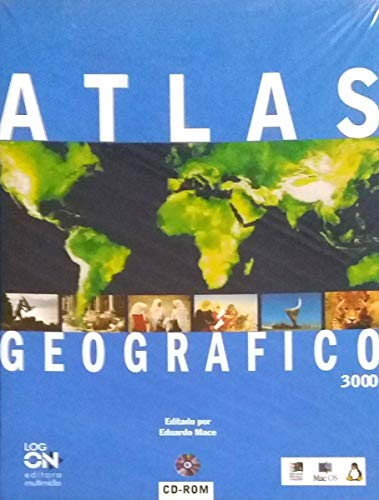 Atlas Geográfico 3000 Em Cd-rom