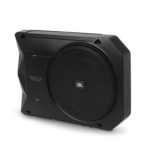 "BassPro SL - JBL 8"" 125W RMS Powered Under-Seat Compact Subwoofer Enclosure System"
