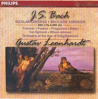 Bach: Cantatas 173 & 201