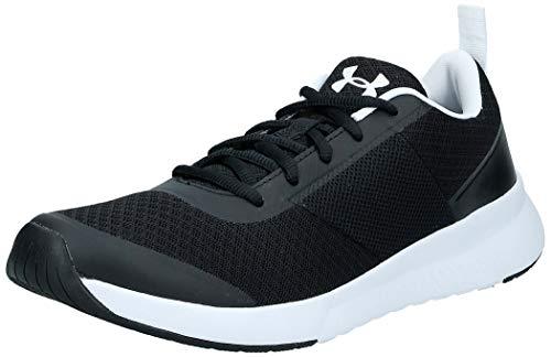 Under Armour Women's Aura Trainer Sneaker, Black (002)/White, 10.5