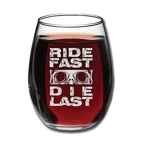Bohohobo Libbey Weinglas ohne Stiel, schnelles Aufdrücken, 350 ml, Weinglas für Rot- und Weißwein, spülmaschinenfest, herzwärmender Geschenk für Weihnachten, Weiß, 350 ml