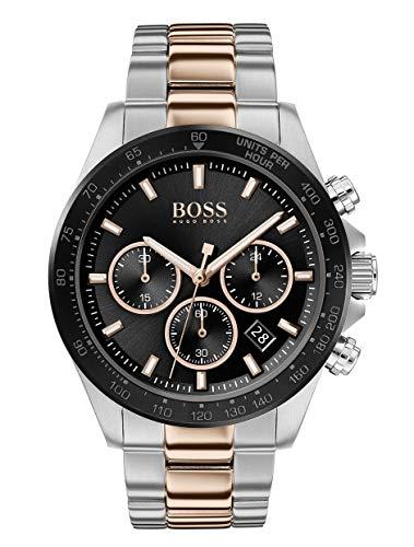 Hugo Boss heren chronograaf kwartshorloge met roestvrij stalen armband 1513757