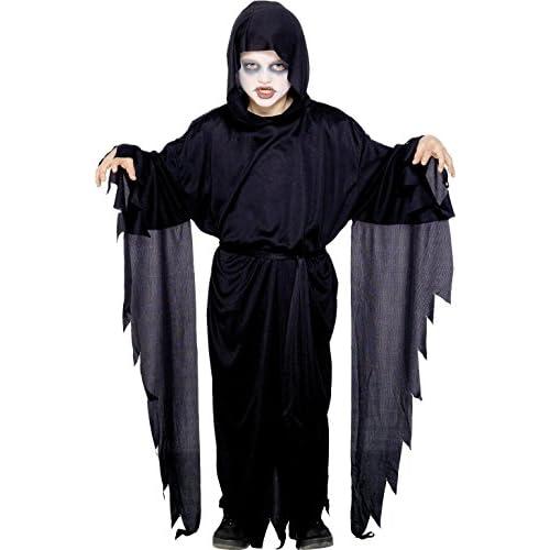 Smiffy's Costume Carnevale Halloween Spettro Demone Urlatore della Morte Horror – Bambino Medium
