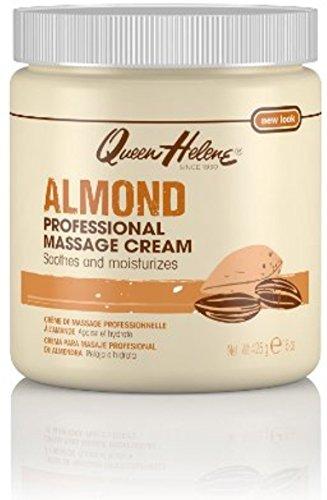 QUEEN HELENE Almond Scented Massage Cream 15 oz ( Pack of 3)