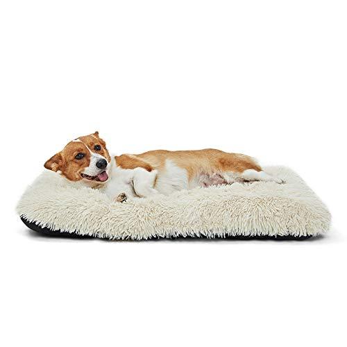 ANWA Hundebett für kleine Hunde, waschbar, für Käfig, Zwinger, Hundebett, Matte 61 cm
