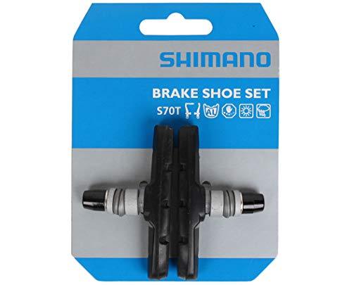 SHIMANO Uni S70t für Br-r353 Bremsschuh, schwarz, 1 Paar