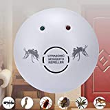 110V Electronic Ultrasonic Mosquito Repeller Rats Spiders Pest Control Killer Cockroach Trap Insect