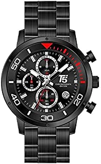T5 Casual Watch For Men Analog Stainless Steel - H3522G-D
