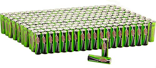 Interstate Batteries AA Alkaline Battery 200 Pack - Workaholic (DRY7001)