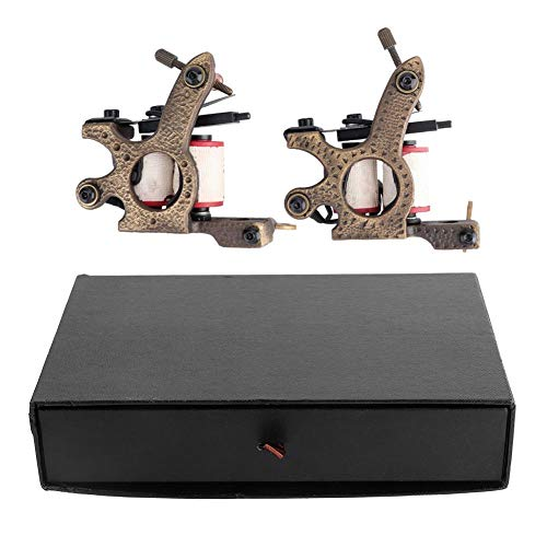 Cimenn Set van 2 messing spoelen tattoo machine snijden scharen liner machine tattoo coil machine