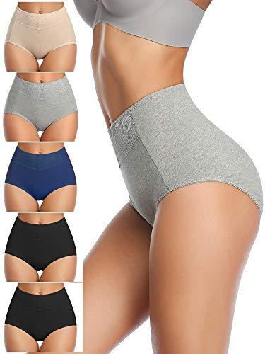 MISSWHO PostPartum Underwear for Women, High Waist Panties Briefs for C-Section Ladies