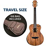 Washburn Comfort G-Mini 55 Koa Guitare acoustique Taille voyage