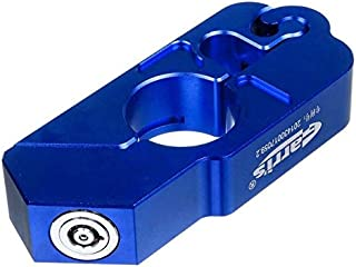Theft Protection - CNC Motorcycle Handle Grip Security Safety Lock Brake Clutch Levers Anti Theft Locks for Kawasaki for Honda for Yamaha ATV (Blue)