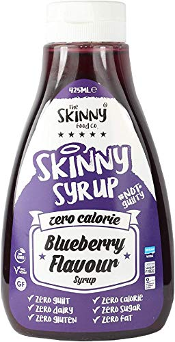 The Skinny Food Co Kalorienfreier Sirup, Blaubeere, 425 ml
