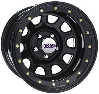 CRAGAR Series 352 Street Lock D Window Rim 16X7 5x4.5 Offset 0 Black (Qty of 1)