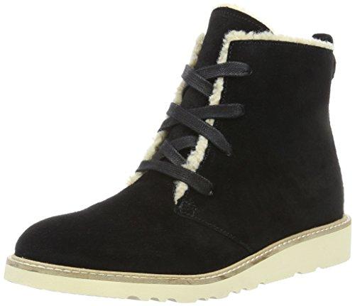 ESPRIT Damen Kajal LU Bootie Chukka Boots, Schwarz (001 Black), 38 EU