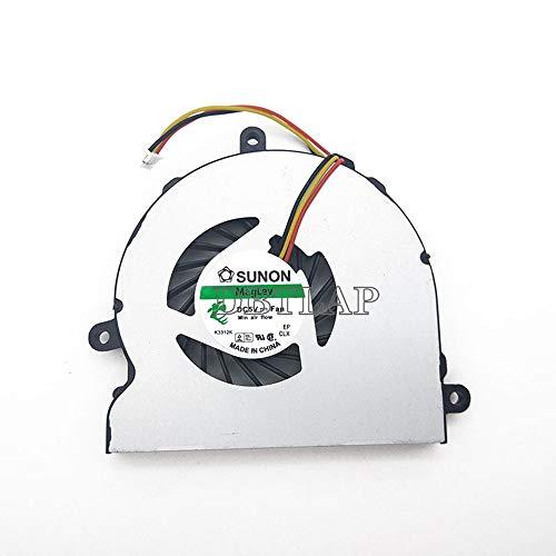 DBTLAP Ventilador de la CPU del Ordenador portátil para DELL Inspiron 15R 15RV 5521 3721 3521 5721 5535 M53IR N5537 N5521 N3521 5537 KSB05105HA DH94 DC28000E3D0 EF60070S1-C050-G99 Ventilador