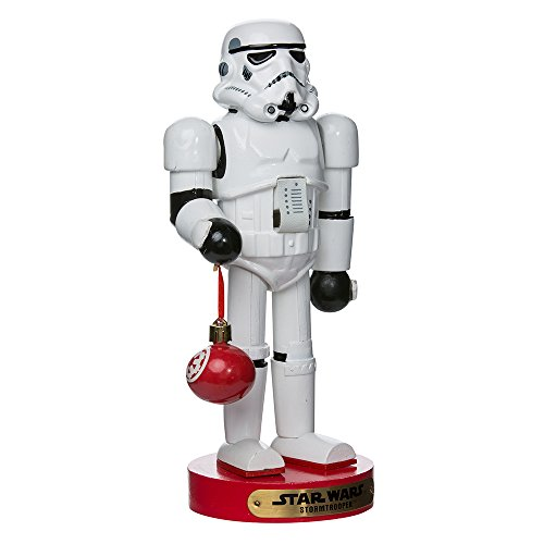 Kurt Adler Stormtrooper with Ball Ornament Nutcracker, 12-Inch (SW6153L)