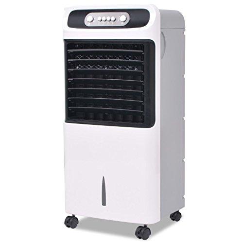 vidaXL Klimagerät Mobile 80 W Luftkühler Luftbefeuchter Ventilator Klimaanlage