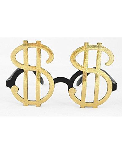 Elope - S65601 - Déguisement - Accessoire - Lunette - Dollars