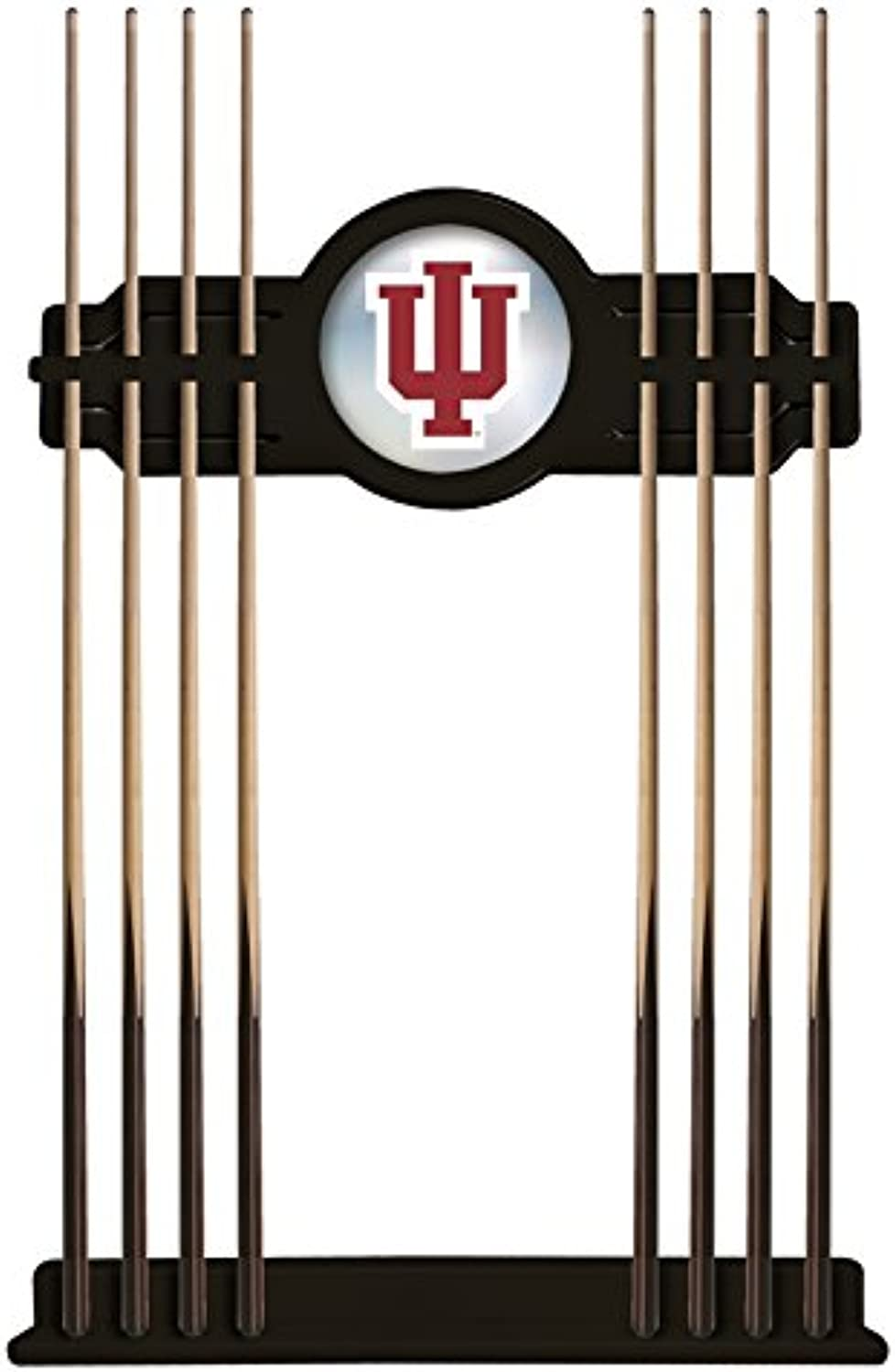 NCAA Pool Cue Rack by Holland Bar Stool, Black  Indiana University