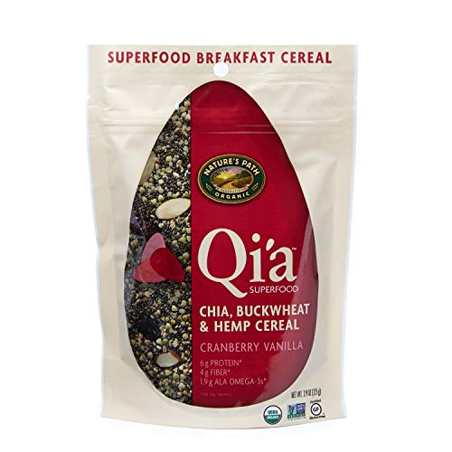 Nature's Path Qi'a Superfood Topper Cranberry Vanilla with Chia,...