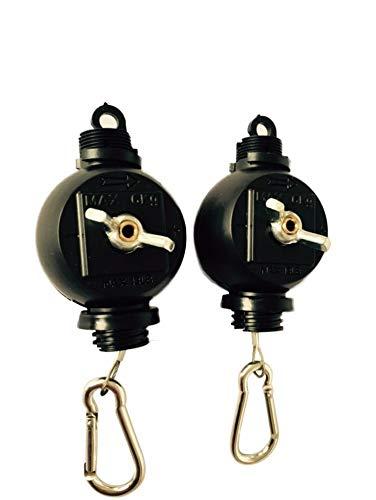 G-E Easy Rolls Lot de 2 Lampes et réflecteurs en continu Stahl (rostfrei)