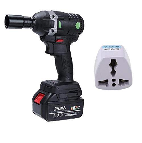 NaisiCore Herramientas eléctrica Llave de Impacto sin Cable Llave de trinquete Eléctrica...
