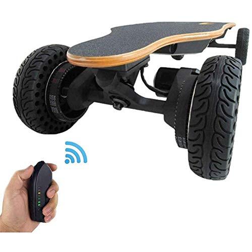 WXDP Patineta Cruiser Pro,Monopatín eléctrico Longboard con Mando a Distancia, 36 Pulgadas,...