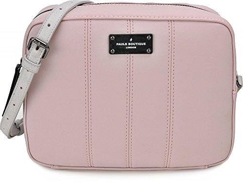 Pauls Boutique, Mini, dames handtassen, schoudertassen, crossbody, oudroze, 24 x 18 x 9 cm (B x H x D)