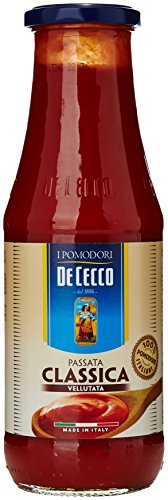 De Cecco - Passata di Pomodoro, Classica Vellutata - 6 pezzi da 700 g [4200 g]