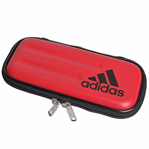 [アディダス] adidas 筆箱 セミハード ペンケース 子供 キッズ 小学生 男の子 ハードケース 筆記用具 文房具 大容量 中学生 多機能 合皮 ロゴ スポーツブランド