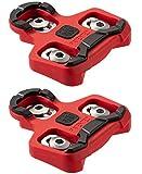 Pro Bike Tool Tacchetti per bici compatibili con i pedali Look KEO (7 gradi di galleggiamento) per scarpe da ciclismo da uomo e donna, set di tacchetti per bici per interni e ciclismo su strada