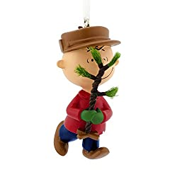 Charlie Brown tree ornament for teenage boys - great stocking stuffer!