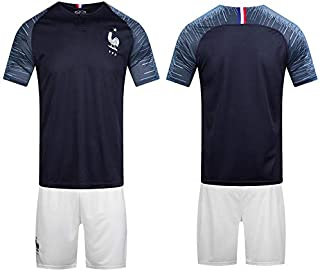 2018 FIFA World Cup France Team Football Jersey suits Short-sleeved T-shirt -code