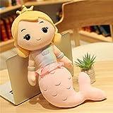 WLYY Sirena Almohada muñeca Linda Cama Peluche muñeca Princesa niño niña muñeca muñeca de Trapo niña...